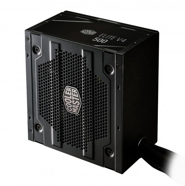 Alimentatore elite v4 500w, 80 plus standard 230v, active pfc, 120mm fan
