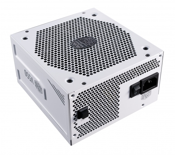 Alimentatore v550 gold v2 white edition, 550w 80plus gold 135mm fan modulare