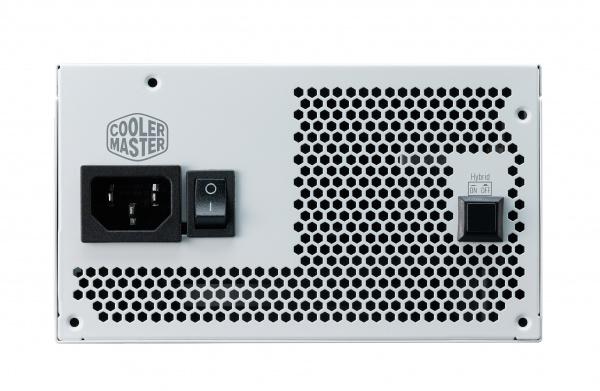 Alimentatore v650 gold v2 white edition, 650w 80plus gold 135mm fan modulare