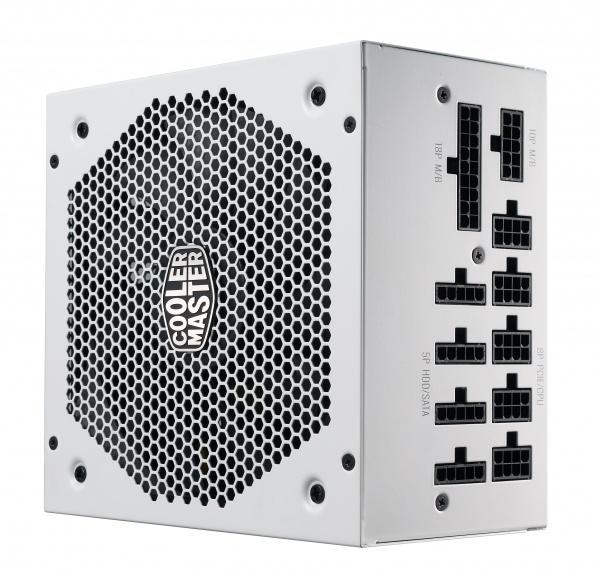 Alimentatore v750 gold v2 white edition, 750w 80plus gold 135mm fan modulare
