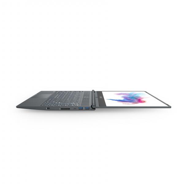Notebook msi modern 14 a10m, 14fhd ips 60hz 72% ntcs thin bezel rgb,i5-10210u,8gb,512gb nvme ssd, win10home+