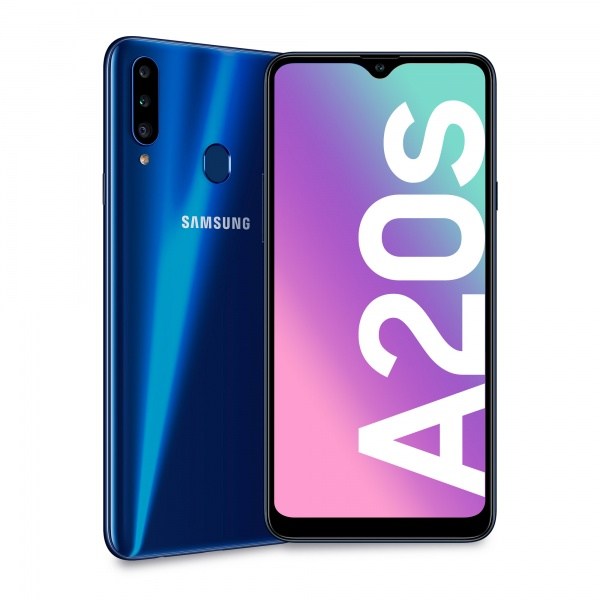 Sm samsung galaxy a20s blue 6,5 3+32gb ds ita