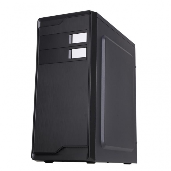 Case winco - middle tower atx 500w, usb3.0, brushed effect