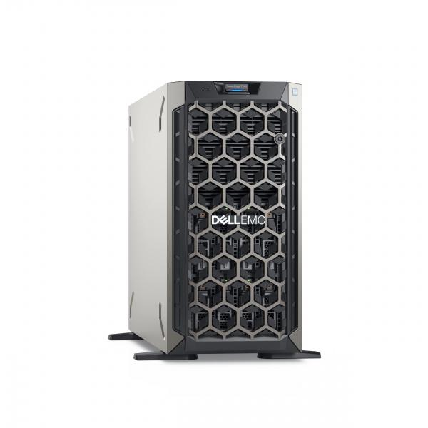 Server dell t340 e2224 16gb 1tb 8lff dvr h330 sata sas 3y nbd 495w