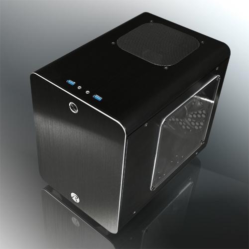 Raijintek case mini-itx metis plus nero alluminio finestra 0r200055