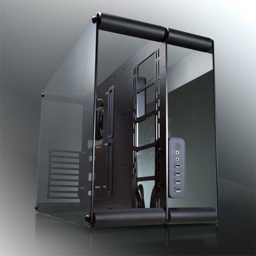 Raijintek case mini tower paean nero trasparente 0r200062