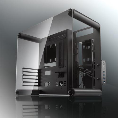 Raijintek case m-atx paean nero trasparente 0r200068