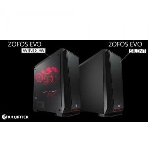 Raijintek case zofos evo silent big tower nero 0r200072