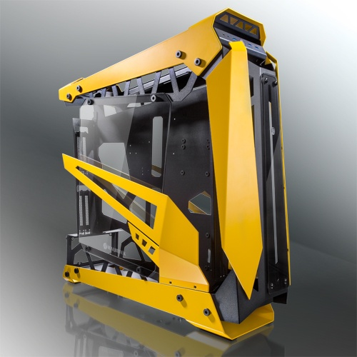Raijintek case big tower nyx pro tg yellow 0r20b00184