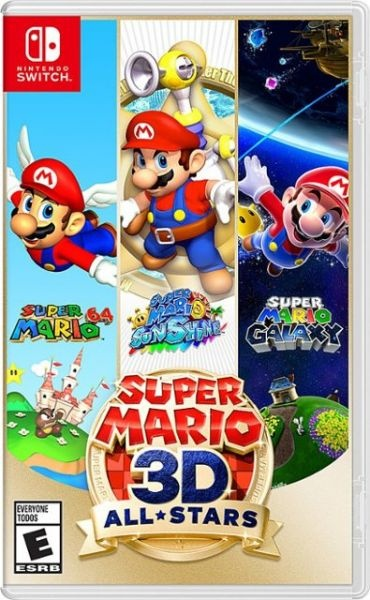 Had super mario 3d all star switch nintendo game