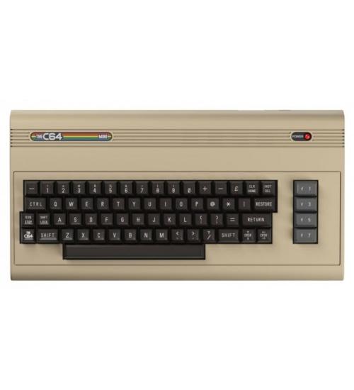 Console retro c64 mini console include joystick/2xusb/64 giochi