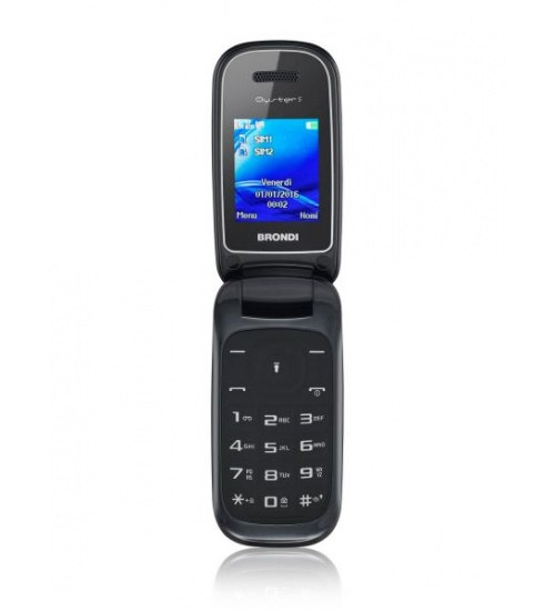 Cellulare brondi oyster s flip ds 1,77 a