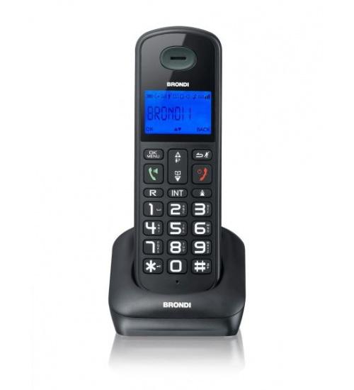 Telefono cordless brondi bravostyle vivavoce/idcall/rubrica