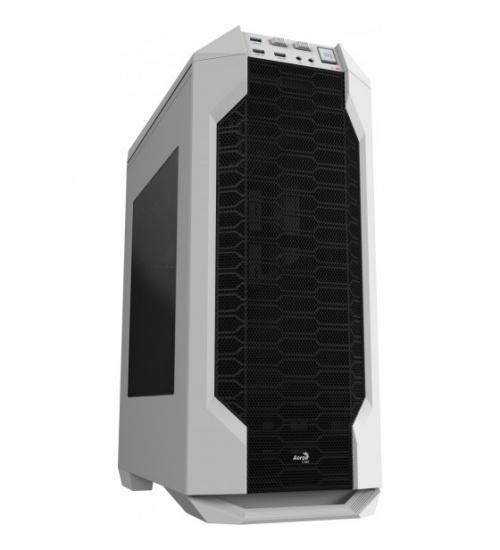 Aerocool ls-5200 case middle tower atx white - renewed