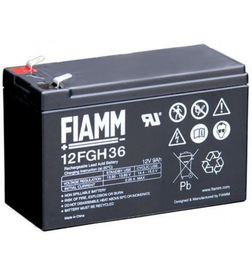Batteria fiamm 12v 9 ah high rate
