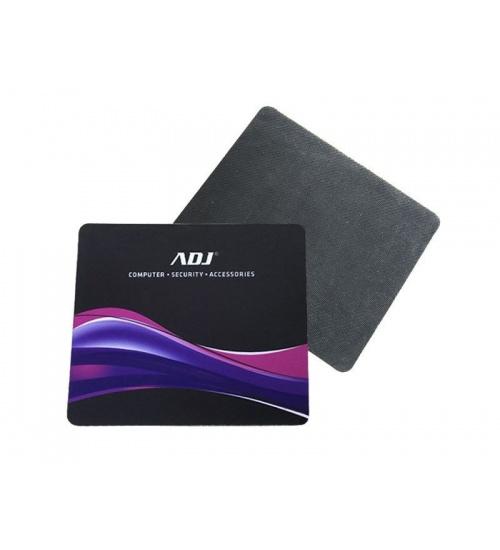 Tappetino mouse pad in gomma bk ripiegabile 210*180mm adj