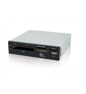 Card reader interno usb 2.0 bk sd/mmc/card m2 e xd card adj