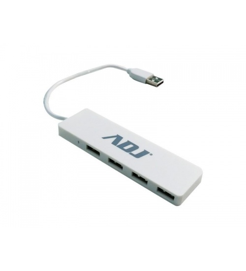 Hub usb 2.0 4p tetra wh compatibile usb1.0/2.0 notebook adj