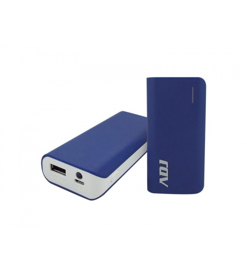 Power bank 5200mah p/usb zeus blu c/cavo microusb5v/2/torcia/indi adj