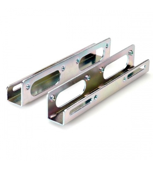 Adattatore 2hdd/ssd 2.5/3.5 silve x case c/12 viti metallo