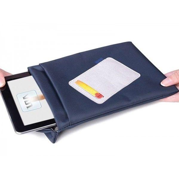Borsa tablet slim bag blu 7 max 10.1 waterproof nylon adj