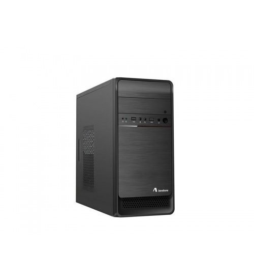 Case mini-tower psu 500w bk microatx/itx 1*usb2 1*usb3 adj