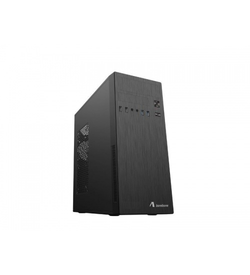 Case mid-tower no psu bk atx/microatx 2*usb2 2*usb3 adj