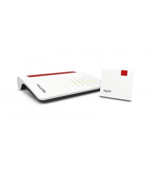 Mesh set fritz!box 7530+1200 200 mbit/s adsl/vdsl rete wifi mesh