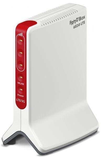 Router 450mbit fritz!box 6820 lte con sim lte(mini sim)+1lan gigabit