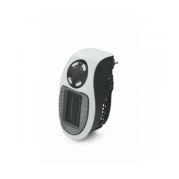 Stufa pluggy mini t/ventilatore bianco c/display led