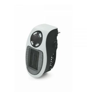 Stufa pluggy mini t/ventilatore bianco c/display led con telecomand