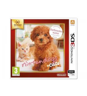 3ds nintendogs+cats: barboncino select