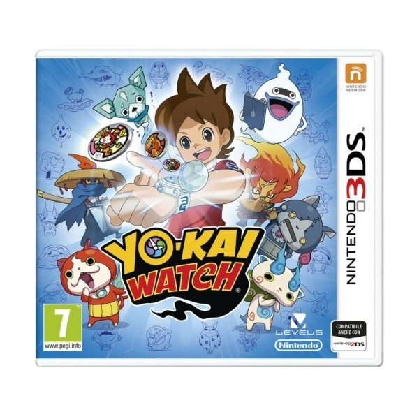 3ds yo-kai watch per nintendo 2dsxl /3ds