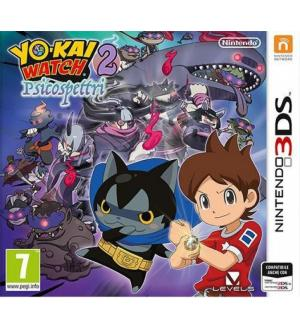 3ds yo-kai watch 2 psicospettri x nintendo 2dsxl/3ds