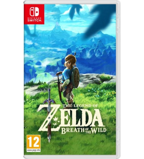 The legend of zelda: breath of the wild x nintendo switch
