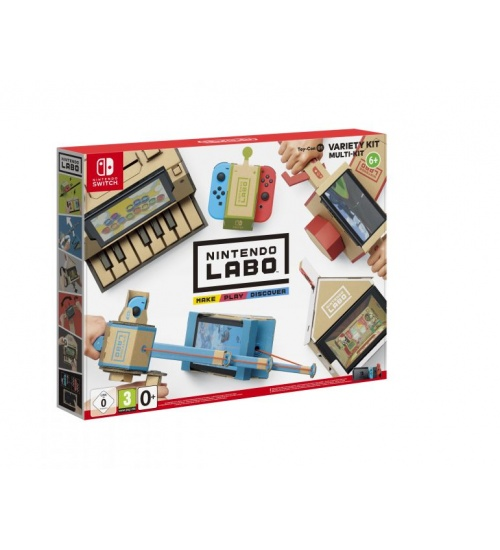 Hac labo kit assortito+ software nintendo switch