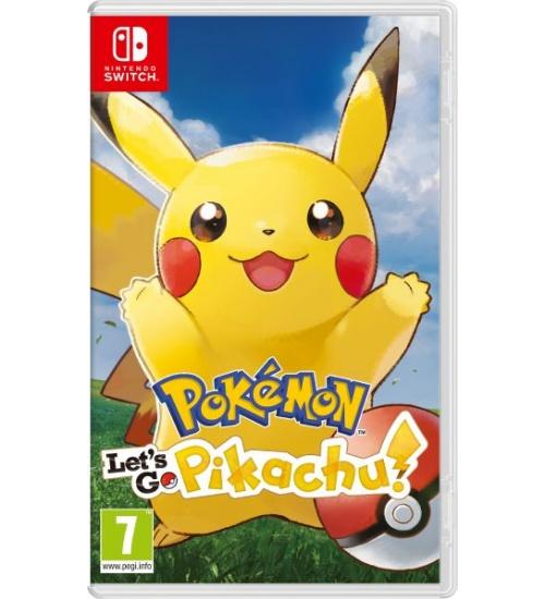 Pokemon lets go pikachu ita switch