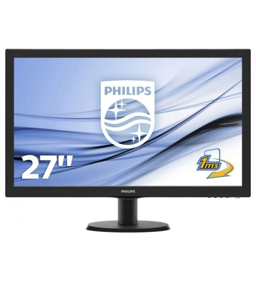 Mon 27w-led mm vga hdmi vesa 1ms philips 273v5lhab 16:9 1000:1