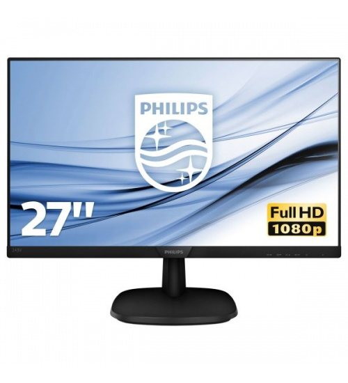Mon 27 ips vga hdmi dp vesa mm philips 273v7qjab 16:9 1000:1 5ms