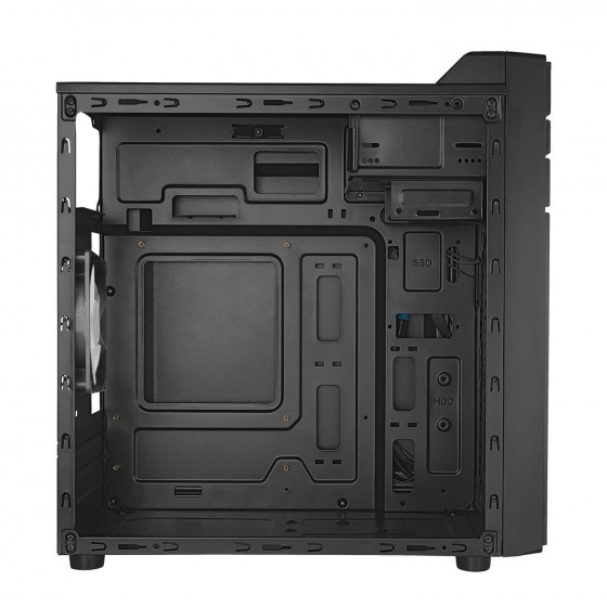 Tacens integra case mini tower atx black, usb 3.0
