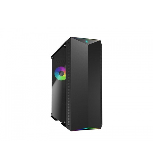 Case mid-tower no psu mpg gungnir 100 2*usb 3.1 window temp glass