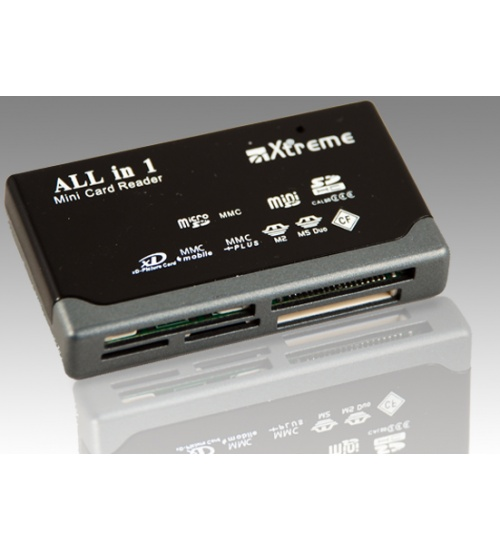 Card reader all in one cr604 usb 2.0 black