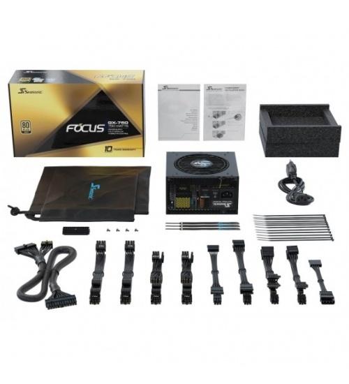 Seasonic focus+ gx alimentatore atx modulare 80+ gold da 750w - bulk