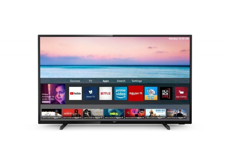 Tv 43 phi 4k uhd smart hdr10 dvbt2 dvbs2 new saphi smart