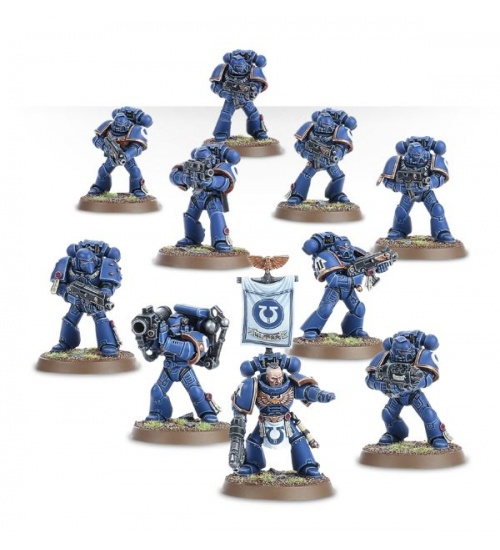 Space marine tactical squad