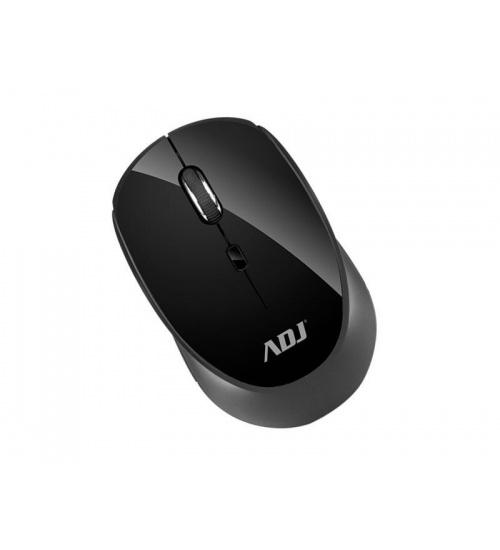 Mouse wireless ottico strange bk 800/1200/1600dpi con ricevitore adj