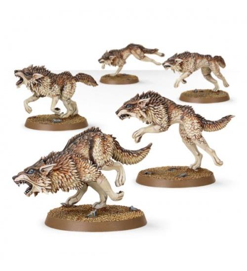 Branco di lupi fenrisiani dei lupo sider