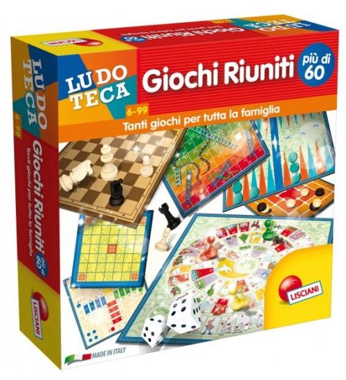 Lisciani ludoteca giochi riuniti ppiÙ, di 60 giochi