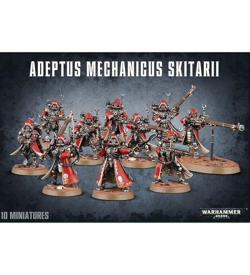 Adeptus mechanicus skitarii