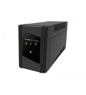 Ups 750 va desktop line int.office series 2*schuko bk adj